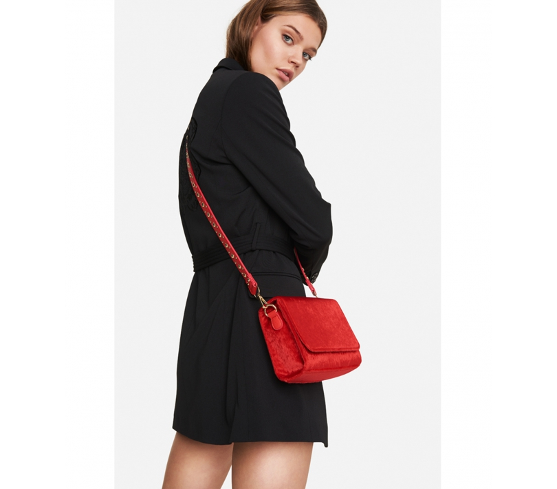 Small bag bright red ALIX The Label