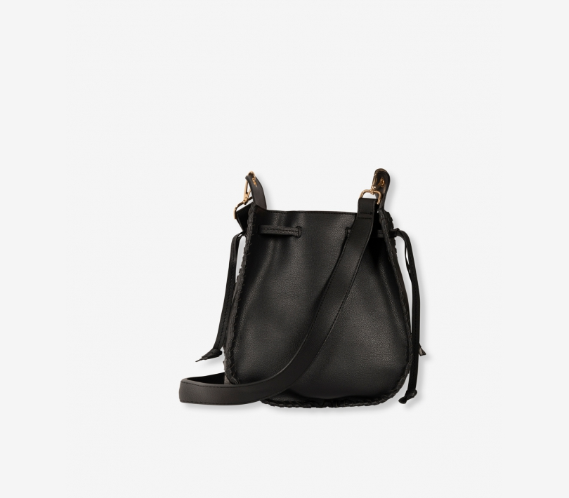 Faux leather bag black ALIX The Label