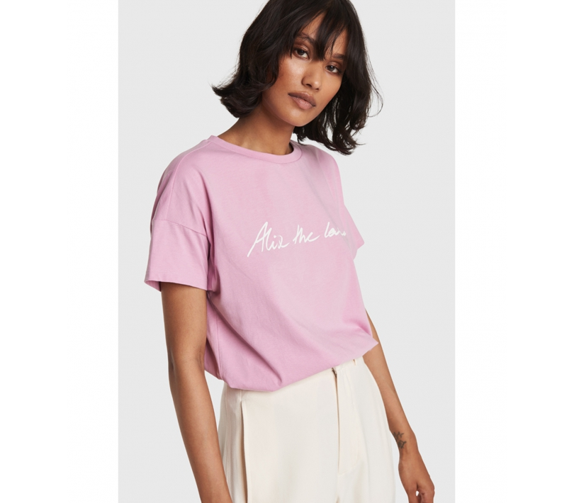 Alix the label t-shirt blossom pink ALIX The Label