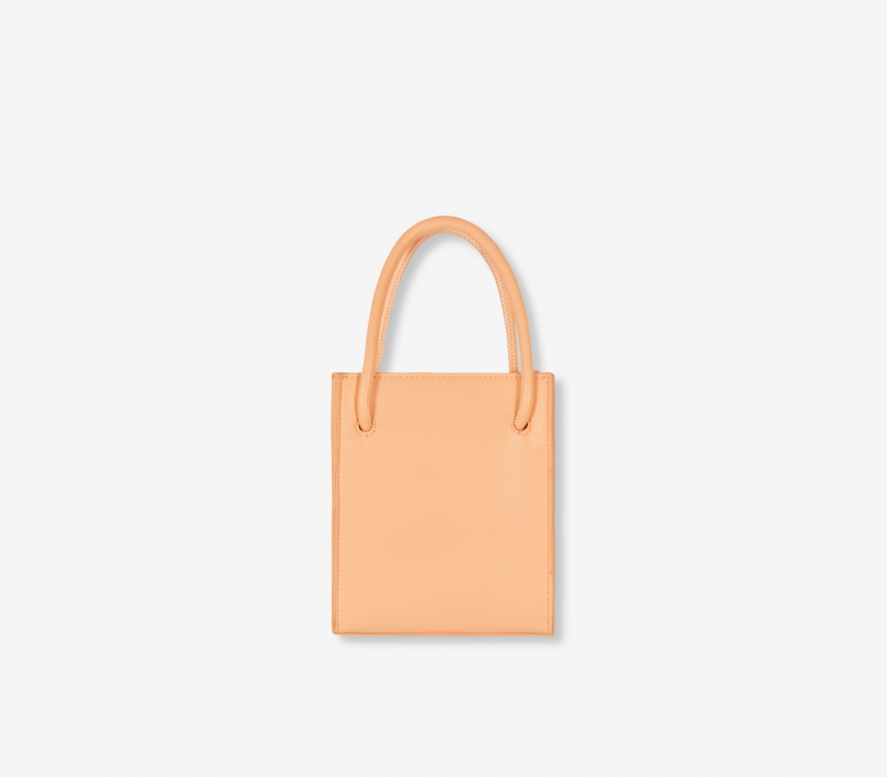 Small faux leather alix bag light salmon ALIX The Label