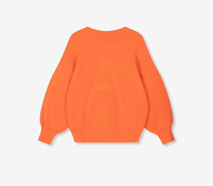 Oversized pullover tangerine ALIX The Label