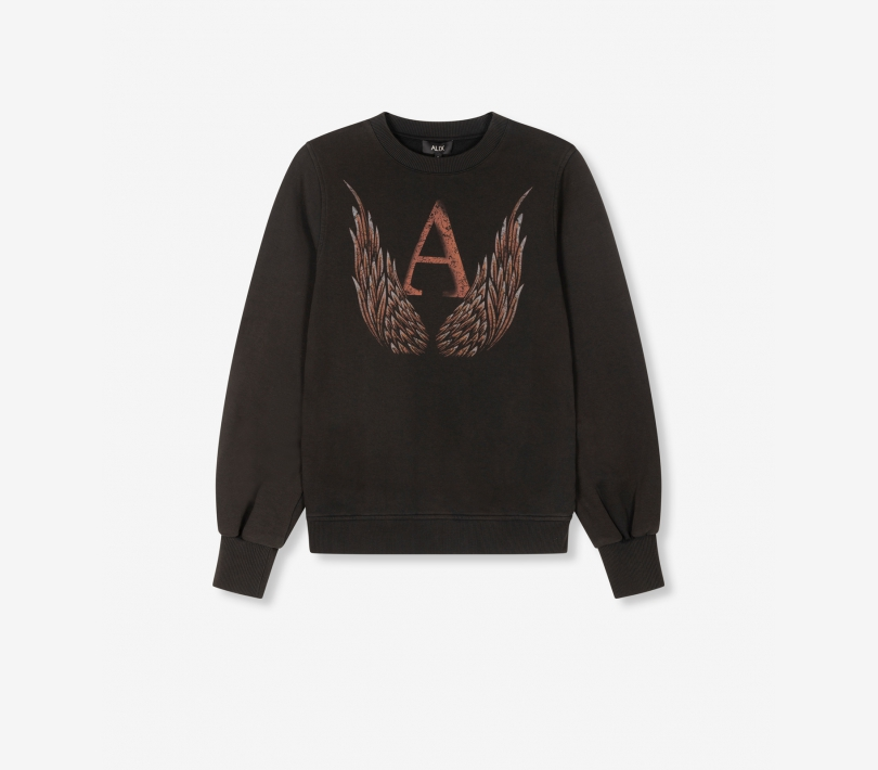 A wings sweater black ALIX The Label