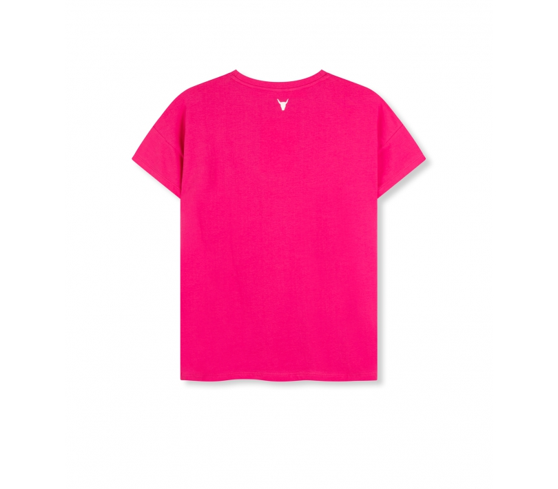 Alix the label t-shirt shocking pink ALIX The Label